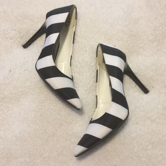 Christian Siriano Shoes - Black & white heels!!